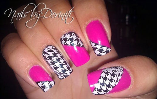 50-Best-Houndstooth-Nail-Art-Designs-Ideas-Trends-Stickers-Wraps-2014-28
