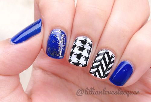 50-Best-Houndstooth-Nail-Art-Designs-Ideas-Trends-Stickers-Wraps-2014-29