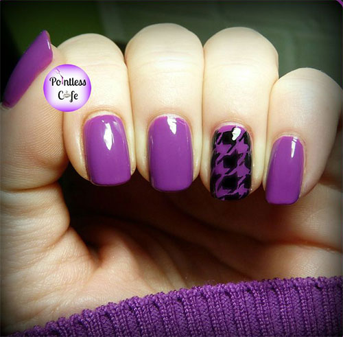 50-Best-Houndstooth-Nail-Art-Designs-Ideas-Trends-Stickers-Wraps-2014-31
