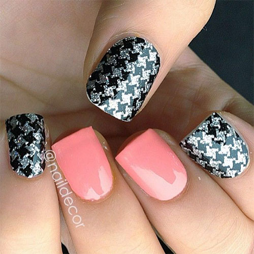 50-Best-Houndstooth-Nail-Art-Designs-Ideas-Trends-Stickers-Wraps-2014-38