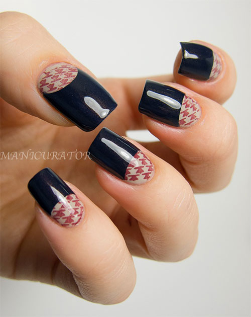 50-Best-Houndstooth-Nail-Art-Designs-Ideas-Trends-Stickers-Wraps-2014-39