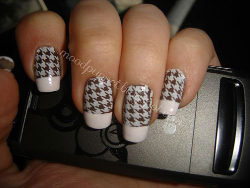 50-Best-Houndstooth-Nail-Art-Designs-Ideas-Trends-Stickers-Wraps-2014-41