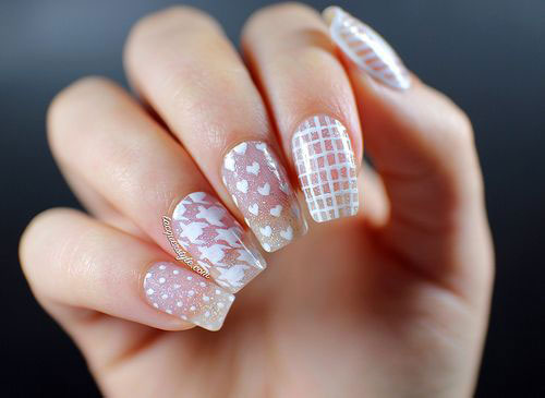 50-Best-Houndstooth-Nail-Art-Designs-Ideas-Trends-Stickers-Wraps-2014-43