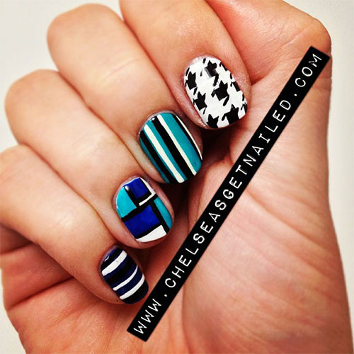 50-Best-Houndstooth-Nail-Art-Designs-Ideas-Trends-Stickers-Wraps-2014-44