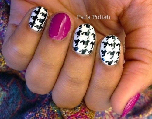 50-Best-Houndstooth-Nail-Art-Designs-Ideas-Trends-Stickers-Wraps-2014-46