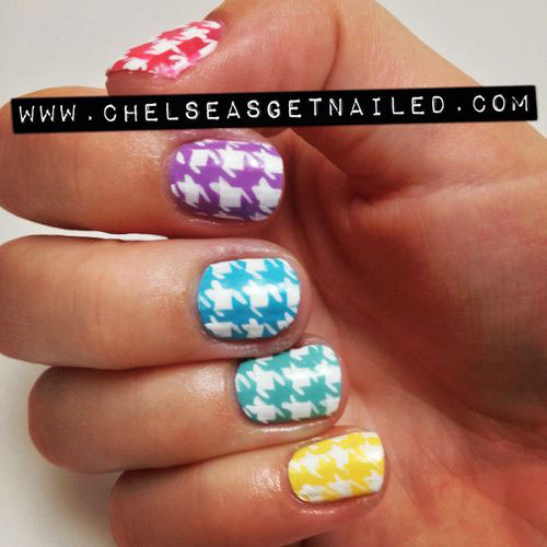 50-Best-Houndstooth-Nail-Art-Designs-Ideas-Trends-Stickers-Wraps-2014-47