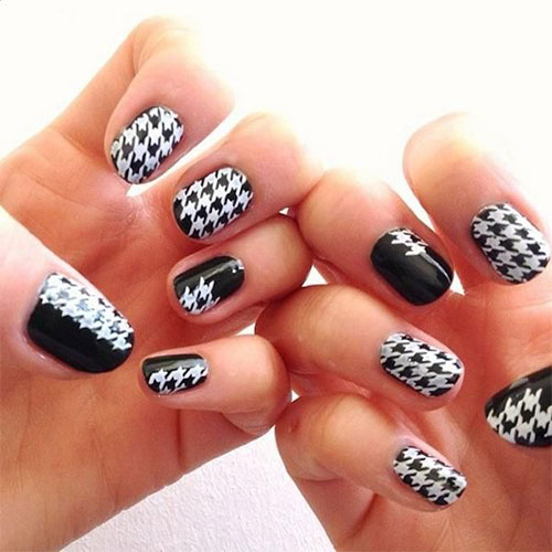 50-Best-Houndstooth-Nail-Art-Designs-Ideas-Trends-Stickers-Wraps-2014-48