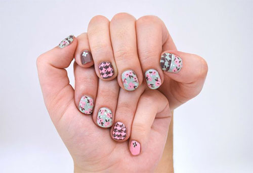 50-Best-Houndstooth-Nail-Art-Designs-Ideas-Trends-Stickers-Wraps-2014-49