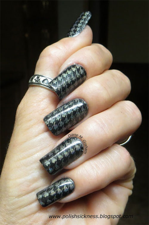 50-Best-Houndstooth-Nail-Art-Designs-Ideas-Trends-Stickers-Wraps-2014-6