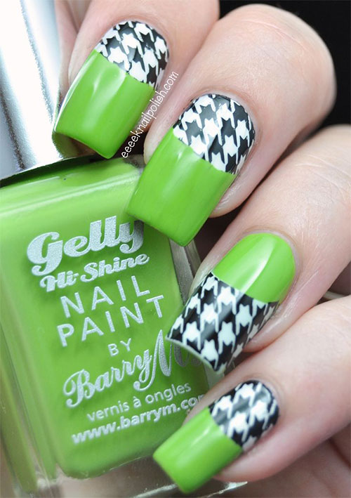 50-Best-Houndstooth-Nail-Art-Designs-Ideas-Trends-Stickers-Wraps-2014-7