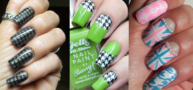 50 best houndstooth nail art designs ideas trends stickers 50 best houndstooth nail art designs ideas trends stickers wraps 2014 fabulous nail art designs prinsesfo Image collections