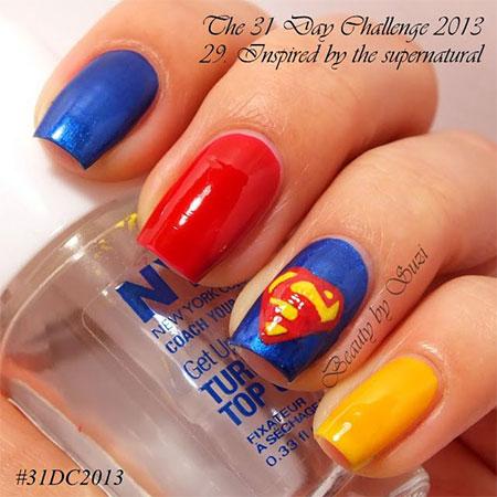 Amazing-Superman-Nail-Art-Designs-Ideas-Trends-Stickers-Wraps-2014-2