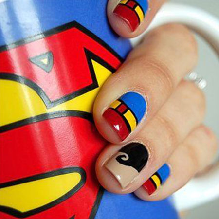 Amazing-Superman-Nail-Art-Designs-Ideas-Trends-Stickers-Wraps-2014-3