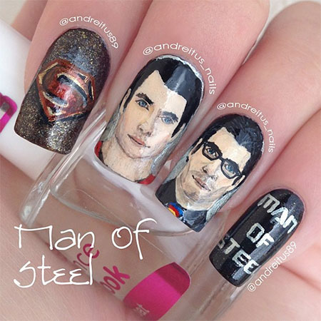 Amazing-Superman-Nail-Art-Designs-Ideas-Trends-Stickers-Wraps-2014-4
