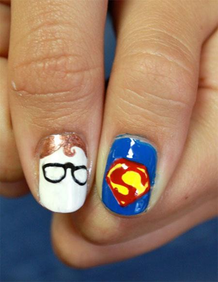 Amazing-Superman-Nail-Art-Designs-Ideas-Trends-Stickers-Wraps-2014-7