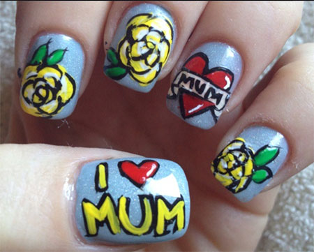 Inspiring-Mothers-Day-Nail-Art-Designs-Ideas-Trends-Stickers-2014-1