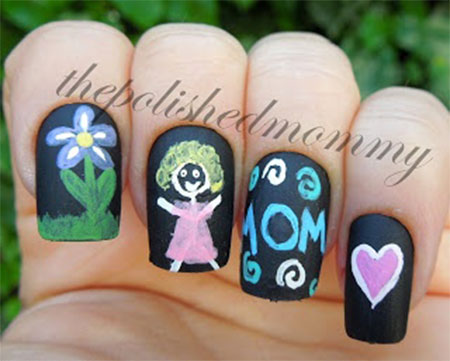 Inspiring-Mothers-Day-Nail-Art-Designs-Ideas-Trends-Stickers-2014-5