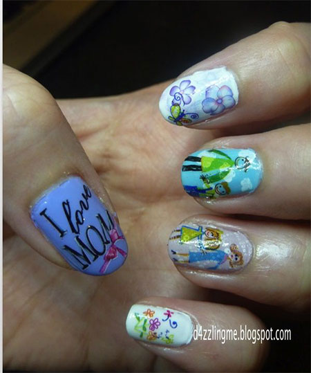 Inspiring-Mothers-Day-Nail-Art-Designs-Ideas-Trends-Stickers-2014-6