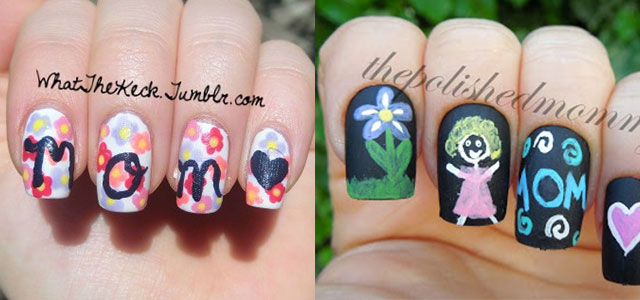 Inspiring-Mothers-Day-Nail-Art-Designs-Ideas-Trends-Stickers-2014