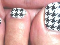 New-Houndstooth-Toe-Nail-Art-Designs-Ideas-Trends-Stickers-Wraps-2014