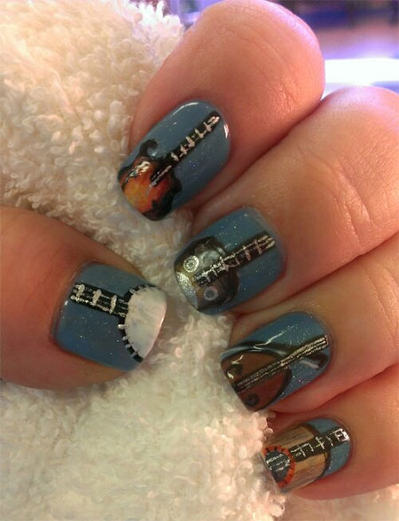 Pretty-Guitar-Nail-Art-Designs-Ideas-Trends-2014-8