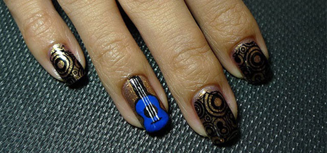 Pretty-Guitar-Nail-Art-Designs-Ideas-Trends-2014