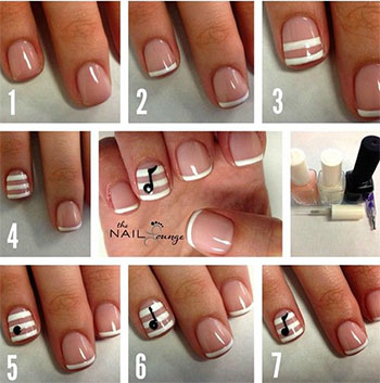 Simple-Music-Nail-Art-Tutorials-2014-For-Beginners-Learners-1