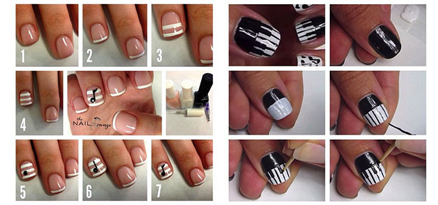 Easy nail art tutorial pictures best nails 2018 simple nail art tutorials 2016 for ners learners prinsesfo Image collections