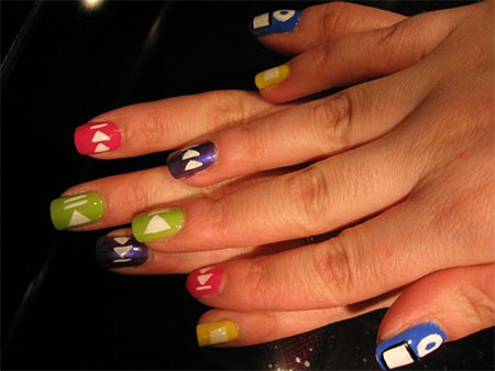 iPod-Inspired-Nail-Art-Designs-Ideas-Trends-2014-1