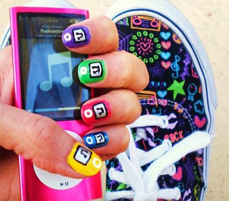 iPod-Inspired-Nail-Art-Designs-Ideas-Trends-2014-11