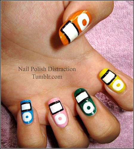 iPod-Inspired-Nail-Art-Designs-Ideas-Trends-2014-2