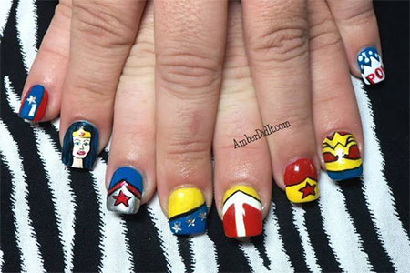 10-Amazing-Wonder-Woman-Nail-Art-Designs-Ideas-Trends-Stickers-2014-1