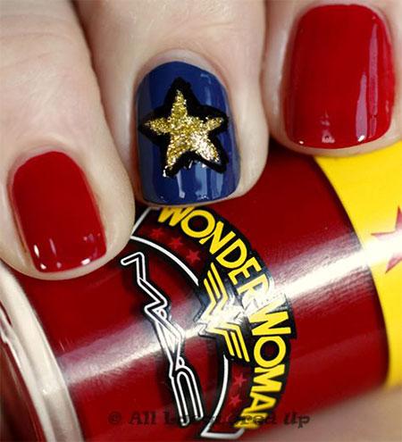 10-Amazing-Wonder-Woman-Nail-Art-Designs-Ideas-Trends-Stickers-2014-10