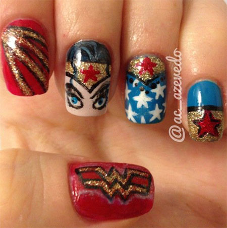 10-Amazing-Wonder-Woman-Nail-Art-Designs-Ideas-Trends-Stickers-2014-3