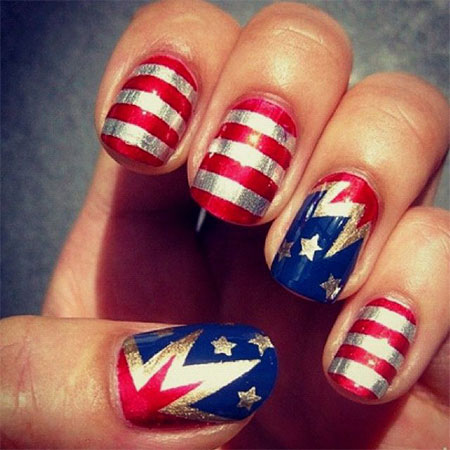10-Amazing-Wonder-Woman-Nail-Art-Designs-Ideas-Trends-Stickers-2014-5