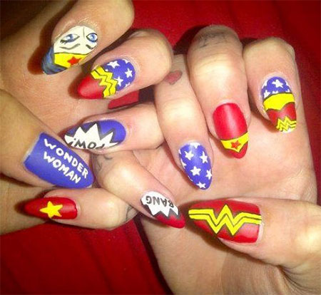 10-Amazing-Wonder-Woman-Nail-Art-Designs-Ideas-Trends-Stickers-2014-7