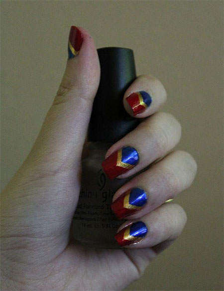 10-Amazing-Wonder-Woman-Nail-Art-Designs-Ideas-Trends-Stickers-2014-8