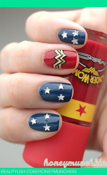 10-Amazing-Wonder-Woman-Nail-Art-Designs-Ideas-Trends-Stickers-2014-9