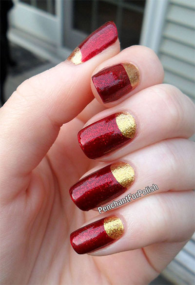 12-Easy-Iron-Man-Inspired-Nail-Art-Designs-Ideas-Trends-Stickers-2014-1