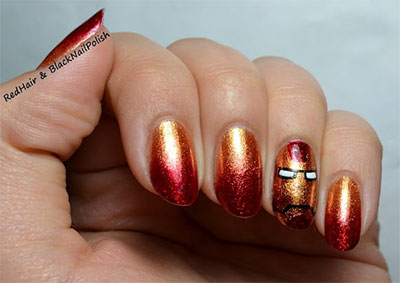 12-Easy-Iron-Man-Inspired-Nail-Art-Designs-Ideas-Trends-Stickers-2014-12