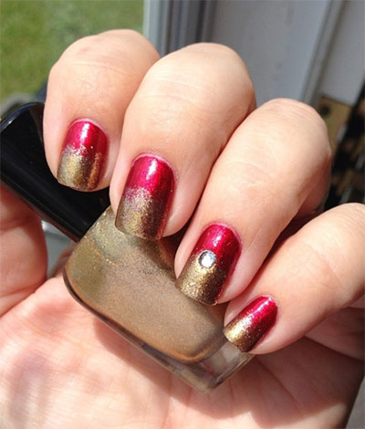 12-Easy-Iron-Man-Inspired-Nail-Art-Designs-Ideas-Trends-Stickers-2014-3