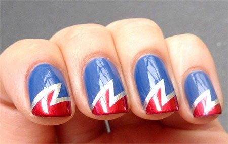 12-Easy-Wonder-Woman-Nail-Art-Designs-Ideas-Trends-Stickers-2014-4