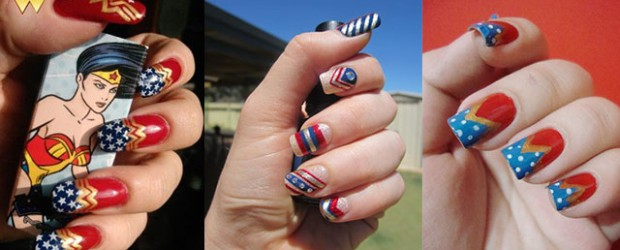 12-Easy-Wonder-Woman-Nail-Art-Designs-Ideas-Trends-Stickers-2014