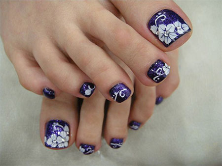 12-Summer-Themed-Toe-Nail -Art-Designs-Ideas-Trends-Stickers-2014-1