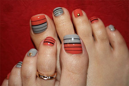 12-Summer-Themed-Toe-Nail -Art-Designs-Ideas-Trends-Stickers-2014-14