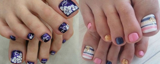 12-Summer-Themed-Toe-Nail -Art-Designs-Ideas-Trends-Stickers-2014