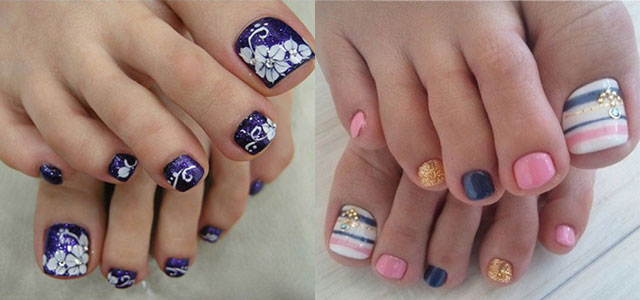 Nail Art Designs Ideas nail art ideas for beginners step by step 12 Summer Themed Toe Nail Art Designs Ideas