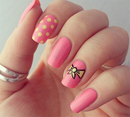 Cute nail art ideas for summer best nails 2018 15 cute pink summer nail art designs ideas trends stickers prinsesfo Choice Image