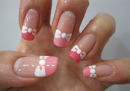 15-Cute-Pink-Summer-Nail-Art-Designs-Ideas- - 15 Cute Pink Summer Nail Art Designs, Ideas, Trends & Stickers