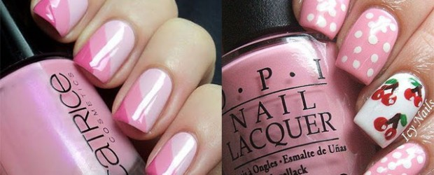 15-Cute-Pink-Summer-Nail-Art-Designs-Ideas-Trends-Stickers-2014